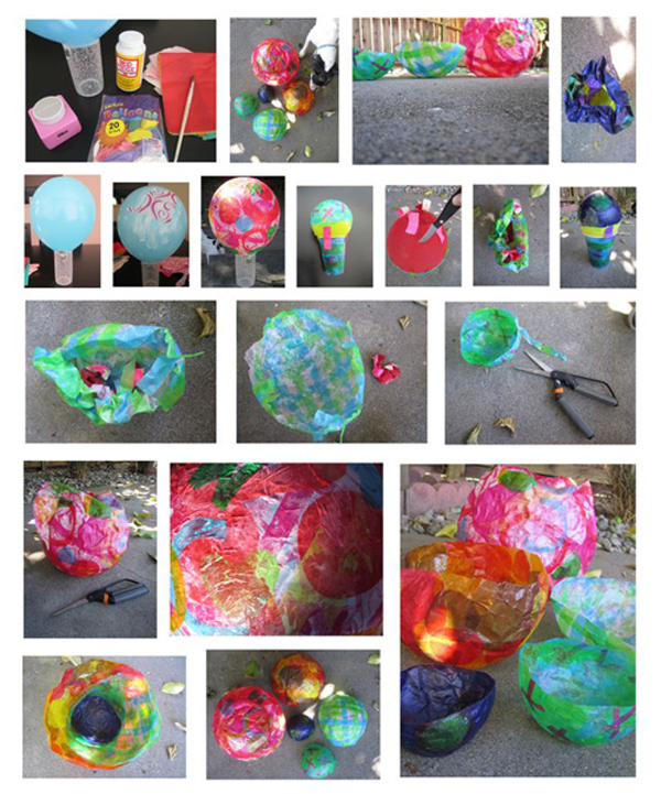 This is such a fun family project to do outside this summer.