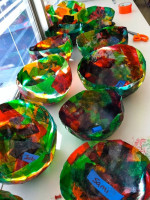 Kindergarten Tissue Paper Balloon Bowls – Part 1