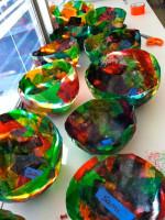 Kindergarten Tissue Paper Balloon Bowls – Part 1