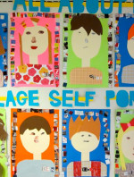 Collage Self Portraits