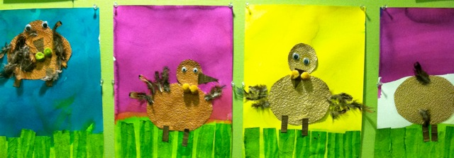 Textured Turkey Paper Craft