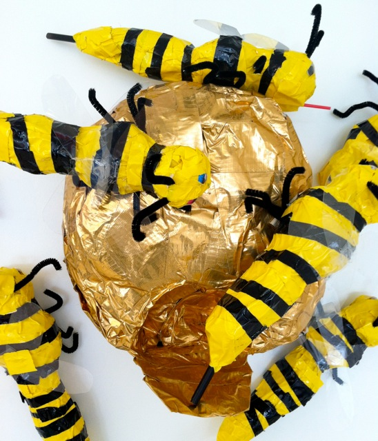 Kindergarten Bee Unit-Duct Tape Honeybees