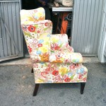 Thanks Gram and Grandpa – Reupholstering Project