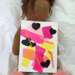 Valentine's Day Art Projects for Toddlers-Tissue Paper Collage