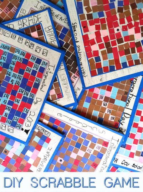 Diy Scrabble Boards