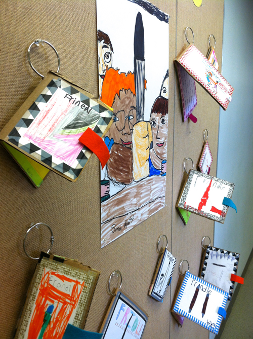 Recycled Cardboard Mini Books Meri Cherry