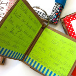 literacy activity - second grade frindle book from recycled cardboard