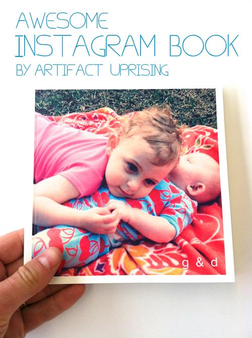 Artifact Uprising Instagram Book