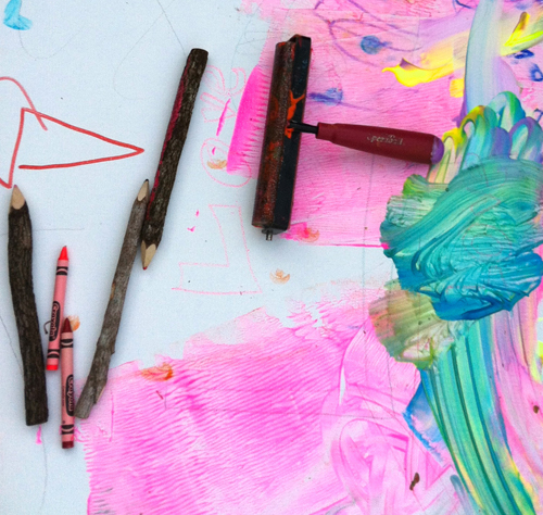 evolving canvas for toddlers