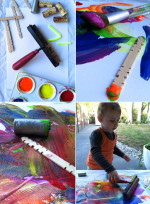Painting Table for Toddlers