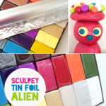 sculpey alien figure