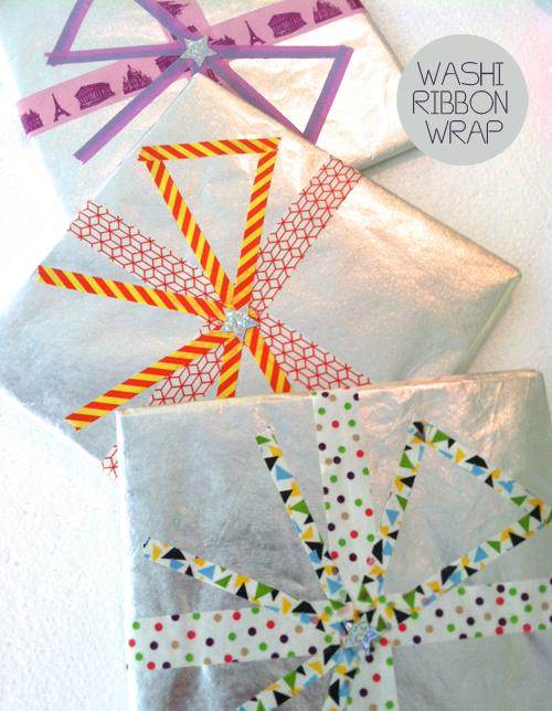 washi ribbon giftwrap