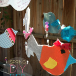 springtime diy bird mobile