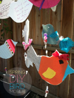 Spring Is In The Air – DIY Bird Mobile