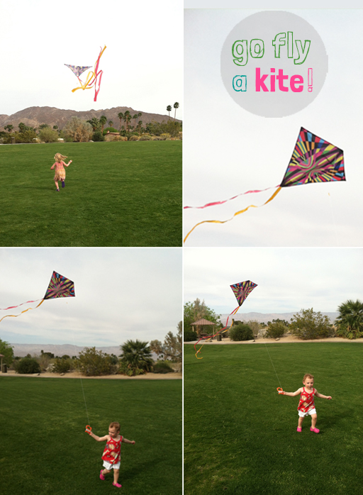 fly a kite with your toddler
