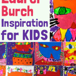 Laurel Burch Inspiration for kids