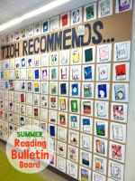 Summer Reading All School Bulletin Board