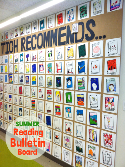 All School Summer Reading Bulletin Board