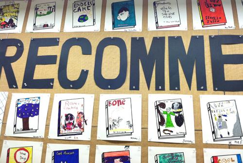 All School Summer Reading Bulletin Board
