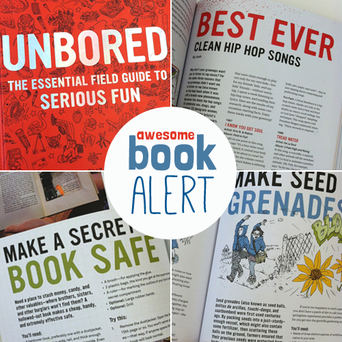 Awesome Book Alert UNBORED The Essential Field Guide To Serious