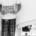 Father's Day Pillow - Gel Glue Batik