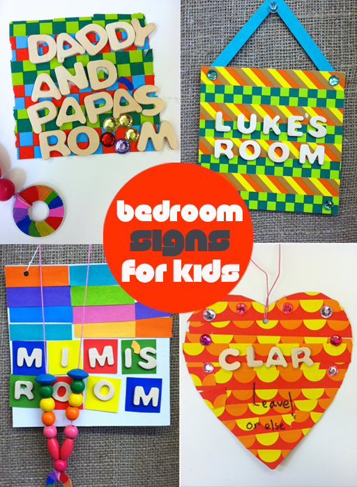 Diy Bedroom Door Signs For Kids Meri Cherry