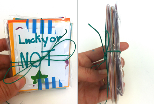 Lottery Tickets for Kids - Awesome Open Ended DIY Project!
