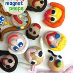 sculpey magnet people