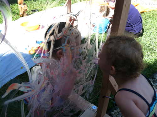 Acrylic Painting Stand for kids - Reggio Style