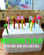 Invitation to Play – Poking and Balancing