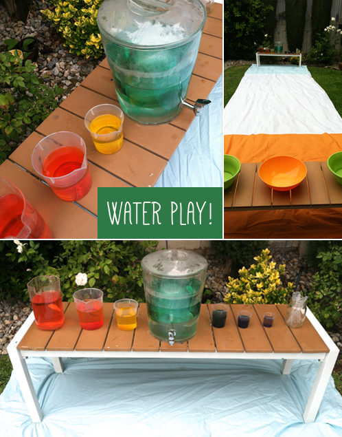 waterplay for toddlers