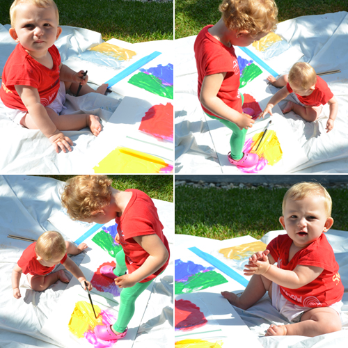 ziploc paint bags for babies and toddlers