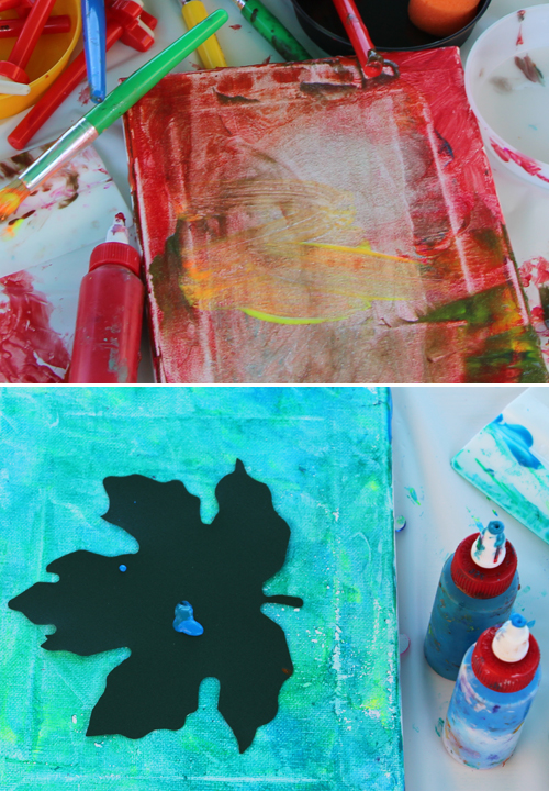 stencil art for kids of all ages