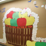 Rosh Hashanah and Back to School Bulletin Board