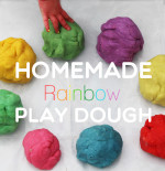 Homemade Rainbow Play Dough – Play Group Party