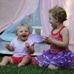backyard teepee play