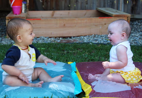 diy duct tape waterbeds for babies and toddlers