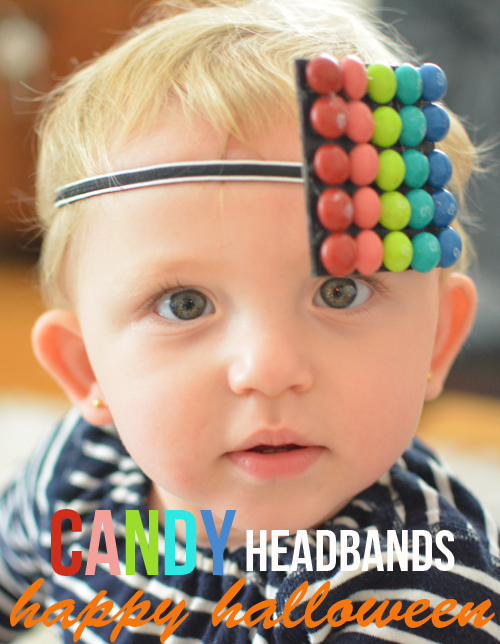 Happy Halloween - DIY Candy Headbands