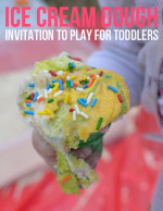 Ice Cream Dough – Invitation to Play for Toddlers