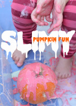 Slimy Pumpkin Fun for Toddlers and Little Ones
