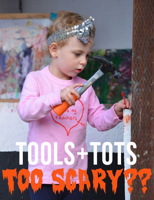 Tools for Toddlers - The Importance of Tinkering