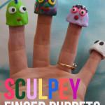 Sculpey Finger Puppets