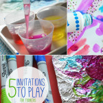5 Favorite Invitations to Play for Toddlers