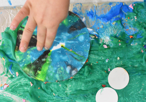 Art Adventures - Outer Space Mural