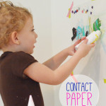 Contact Paper Mural for Toddlers