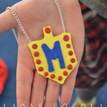 Hanukkah Sculpey Dreidel Necklace