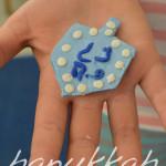 Hanukkah Sculpey Dreidel Fun