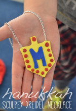 Hanukkah Dreidel Necklaces and the Top 5 Reasons Why Sculpey Makes the Best Holiday Gift for Kids