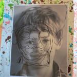 Reggio Inspired Self Portrait Shadow Boxes
