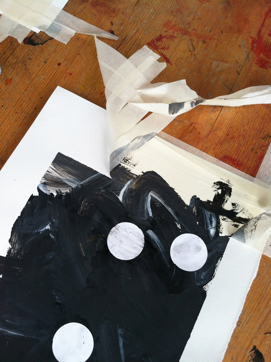 Introducing Black and White to Toddlers - Simple Art Activities for kids